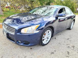 Used 2009 Nissan Maxima 4dr Sdn V6 CVT 3.5 S Edition Back-Up Cam Fully for sale in Mississauga, ON
