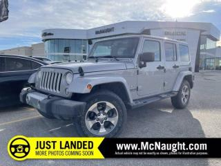 Used 2017 Jeep Wrangler Unlimited Sahara | Remote Start | Bluetooth for sale in Winnipeg, MB