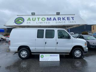 Used 2013 Ford Econoline E-250 CARGO DUAL FUEL! REG. & NAT. GAS READY TO WORK! FREE BCAA & WRNTY for sale in Langley, BC