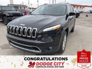 Used 2017 Jeep Cherokee Limited for sale in Saskatoon, SK