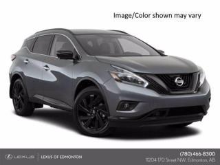 Used 2018 Nissan Murano SL  CVT for sale in Edmonton, AB