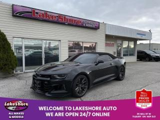Used 2017 Chevrolet Camaro ZL1 **WOW** for sale in Tilbury, ON