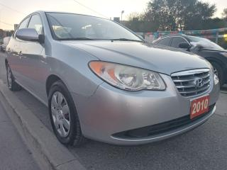 Used 2010 Hyundai Elantra L-EXTRA CLEAN-158K-4 CYL-AUX-GAS SAVER-MUST SEE!!! for sale in Scarborough, ON