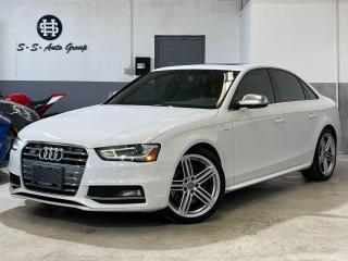 Used 2013 Audi S4 TECHNIK|SPORT DIFF|NAV|BSM|BACK UP|CLEAN CF| for sale in Oakville, ON
