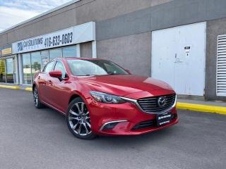 Used 2016 Mazda MAZDA6 GT-AUTOMATIC-NAVI-LEATHER-SUNROOF for sale in Toronto, ON