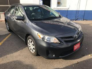 Used 2011 Toyota Corolla CE for sale in Etobicoke, ON