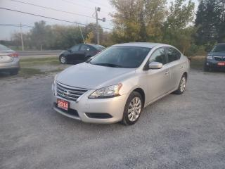 Used 2014 Nissan Sentra S BACK UP CAMERA CERTIFIED LOW KMS for sale in Stouffville, ON