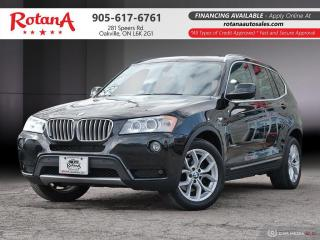 Used 2011 BMW X3 28i_Navi_Rear Cam_Panoramic Roof_BT for sale in Oakville, ON