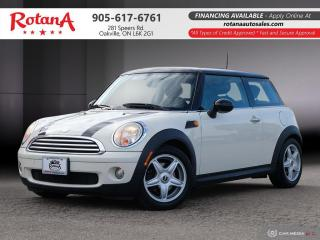 Used 2008 MINI Cooper Classic_Accident Free_LEATHER_SUNROOF for sale in Oakville, ON