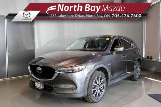 Used 2018 Mazda CX-5 GT AWD - Bose Sound - Heated Seats -  Nav for sale in North Bay, ON