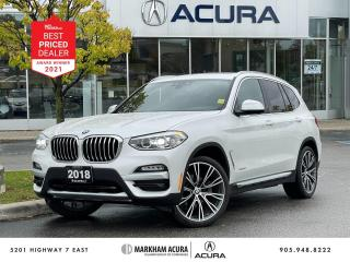 Used 2018 BMW X3 xDrive30i for sale in Markham, ON