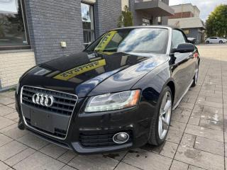 Used 2012 Audi A5 Cabriolet Auto 2.0L Premium Plus for sale in Nobleton, ON
