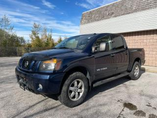 Used 2012 Nissan Titan NO ACCIDENTS | PRO-4X CREW CAB | 4WD for sale in Barrie, ON