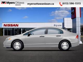 Used 2008 Honda Civic Sedan DX-G for sale in Ottawa, ON