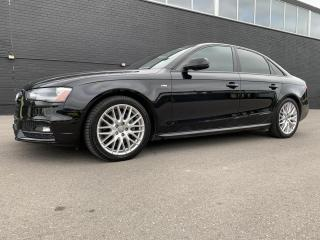 Used 2015 Audi A4 2.0T Premium S-Line Quattro Manual Certified - Accident Free for sale in Etobicoke, ON