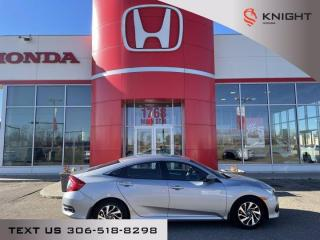 Used 2017 Honda Civic Sedan EX for sale in Moose Jaw, SK