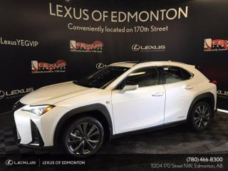New 2022 Lexus UX 250H F SPORT SERIES 2, for sale in Edmonton, AB
