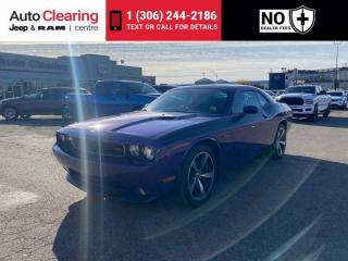Used 2013 Dodge Challenger R/T Classic for sale in Saskatoon, SK