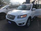 Photo of White 2012 Hyundai Santa Fe