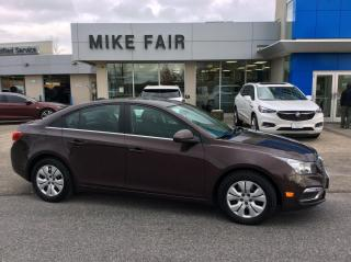 Used 2015 Chevrolet Cruze 1LT Remote Start, Climate Control, Rear Vision Camera, Cruise Control for sale in Smiths Falls, ON