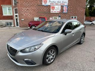 Used 2014 Mazda MAZDA3 GX-SKY/2L/NO ACCIDENTS/SAFETY INCLUDED for sale in Cambridge, ON