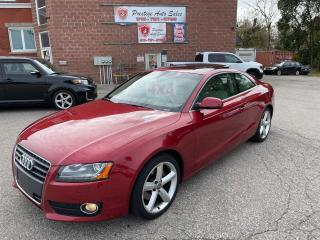 Used 2011 Audi A5 Premium Plus Quattro/2T/AWD/NO ACCIDENTS/SAFETY IN for sale in Cambridge, ON
