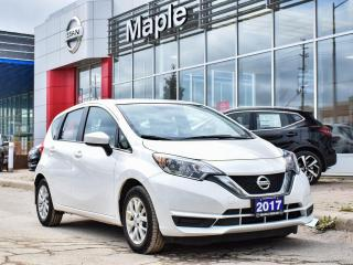 Used 2017 Nissan Versa Note SV Alloys Bluetooth Backup Camera Heated Seats for sale in Maple, ON