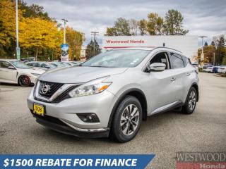 Used 2016 Nissan Murano SV for sale in Port Moody, BC