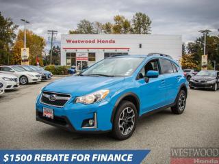 Used 2016 Subaru XV Crosstrek 2.0I PREMIUM CVT for sale in Port Moody, BC