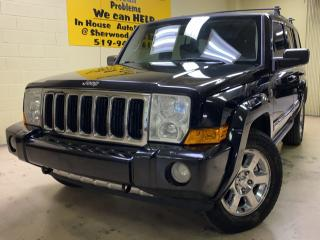 Used 2007 Jeep Commander Limited  for sale in Windsor, ON