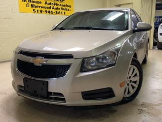 Used 2011 Chevrolet Cruze LT Turbo w/1SA for sale in Windsor, ON