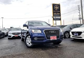 Used 2016 Audi Q5 No Accidents|S- Line|Quattro|Technik| Certified for sale in Brampton, ON