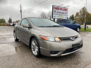 Used 2008 Honda Civic SI for sale in Komoka, ON