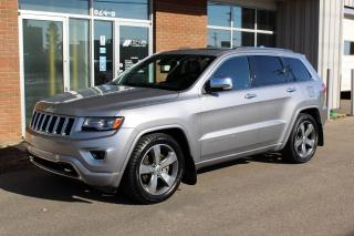Used 2014 Jeep Grand Cherokee Overland 4x4 Diesel - ACCIDENT FREE for sale in Saskatoon, SK