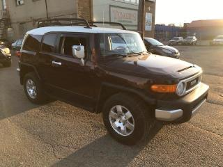 Used 2007 Toyota FJ Cruiser 1 OWNER , 6 SPEED , SERVICE RECORDS for sale in Etobicoke, ON