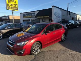 Used 2016 Subaru Impreza 2.0i Touring Package LIMITED PACKAGE,LOADED  AWD! for sale in Etobicoke, ON