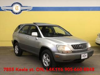 Used 2002 Lexus RX 300 AWD 2 Years Powertrain Warranty for sale in Vaughan, ON