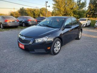 Used 2014 Chevrolet Cruze LS DRIVES EXCELLENT for sale in Stouffville, ON