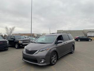 Used 2015 Toyota Sienna SE  |$0 DOWN - EVERYONE APPROVED for sale in Calgary, AB