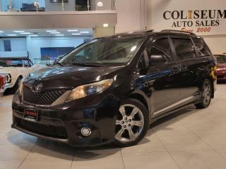 Used 2012 Toyota Sienna SE V6 P/DOORS-LEATHER-ROOF-CAMERA-NO ACCIDENTS!! for sale in Toronto, ON