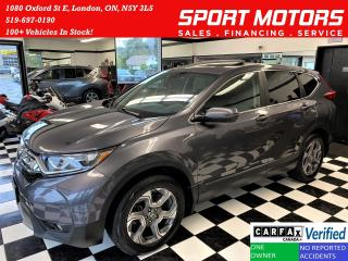 Used 2019 Honda CR-V EX AWD+LaneKeep+Adaptive Cruise+Roof+CLEAN CARFAX for sale in London, ON