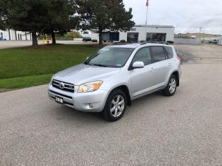 Used 2008 Toyota RAV4 LIMITED  for sale in Cambridge, ON