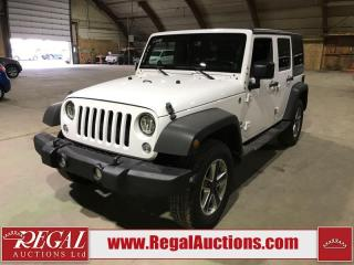 Used 2014 Jeep Wrangler UNLIMITED SPORT for sale in Calgary, AB