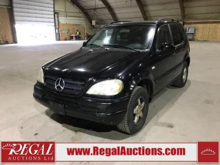 Used 2000 Mercedes-Benz ML-Class for sale in Calgary, AB