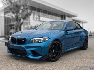 Used 2018 BMW M2 Coupe Accident Free! M Performance Exhaust! DCT! for sale in Winnipeg, MB