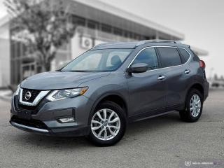 Used 2017 Nissan Rogue SV Beautiful Low Mileage, Accident Free, Local SUV! for sale in Winnipeg, MB