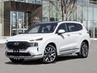 New 2022 Hyundai Santa Fe Ultimate Calligraphy for sale in Winnipeg, MB