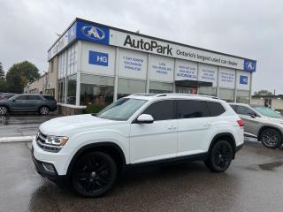 Used 2019 Volkswagen Atlas 3.6 FSI Execline for sale in Brampton, ON