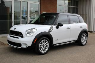 Used 2016 MINI Cooper Countryman Cooper S S ALL4 - ACCFIDENT FREE - PANO ROOF for sale in Saskatoon, SK