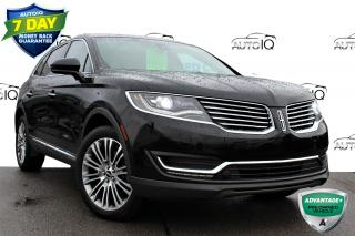 Used 2017 Lincoln MKX Reserve AWD | SUNROOF | NAVIGATION | HEATED LEATHER |  NAVIGATION for sale in Hamilton, ON